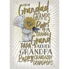 Male Grandparent Me to You Bear Father's Day Card