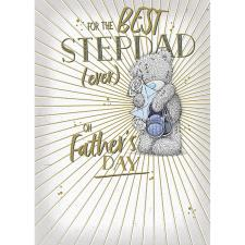 Best Step Dad Ever Me to You Bear Father's Day Card