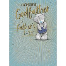 Wonderful Godfather Me to You Bear Father's Day Card