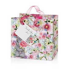 Small Me to You Bear Floral Gift Bag