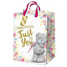 Extra Large Just For You Me to You Bear Gift Bag