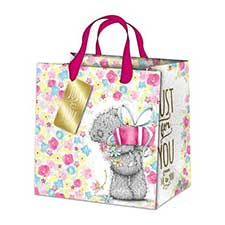 Large Just For You Me to You Bear Gift Bag