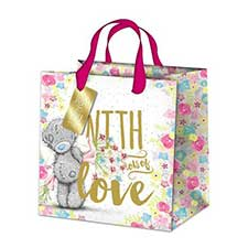 Medium Just For You Me to You Bear Gift Bag