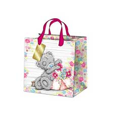 Small Just For You Me to You Bear Gift Bag