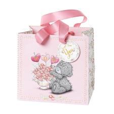 Small Mum Flowers Me to You Bear Gift Bag