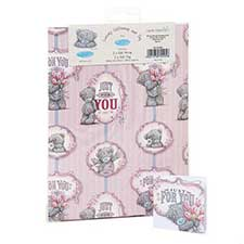 Just For You Luxury Me to You Bear Giftwrap and Tags