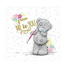 From Me to You Bear Gift Tag