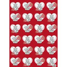 Love Heart Me to You Bear Gift Wrap