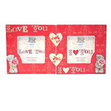 Love Wooden Me to You Bear 2 Piece Photo Frame