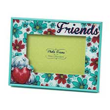 Friends Me to You Bear Floral Sketchbook Photo Frame