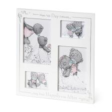 Happily Ever After Me To You Bear Wedding Photo Frame