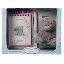 Me to You Bear Notepad, Pen & Charm Gift Set