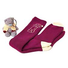 "3"" Keyring and Welly Socks Me to You Bear Gift Set"