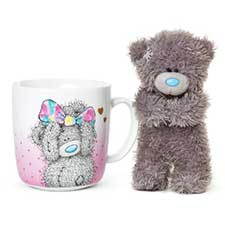 Just For You Me to You Bear Mug & Plush Gift Set