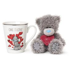 One I Love Me to You Bear Mug & Plush Gift Set