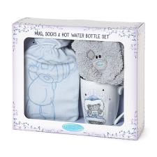 Me To You Bear Mug, Sock & Hot Water Bottle Gift Set
