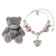 "4"" Me to You Bear and Bracelet Gift Set"