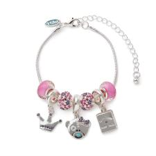 Princess Beaded Me to You Bear Bracelet