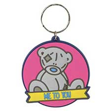 Me to You Bear Round PVC Keyring