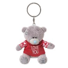 "3"" Love You Tshirt Me to You Bear Plush Keyring"