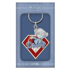Daddy Me to You Bear Enamel Key Ring