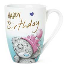 Happy Birthday Me to You Bear Boxed Mug