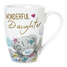Wonderful Daughter Me to You Bear Boxed Mug