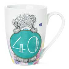 40th Birthday Me to You Bear Boxed Mug