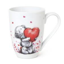 Heart Print Me to You Bear Boxed Mug