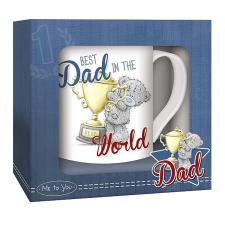 Best Dad In The World Me to You Bear Boxed Mug
