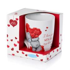 Love You Me to You Bear Boxed Mug