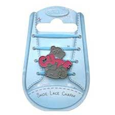 Cute Me to You Bear Shoe Lace Charm