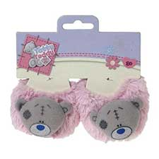 Tatty Teddy Me to You Bear Pink Fluffy Slippers