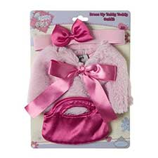 Tatty Teddy Me to You Bear Pink Cape, Bag & Headband