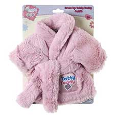 Tatty Teddy Me to You Bear Pink Fluffy Dressing Gown