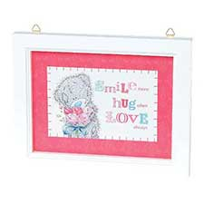 Smile Hug Love Me to You Bear Framed Verse