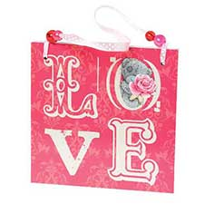 Love Me to You Bear Plaque