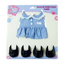 Tatty Puppy Dress Up School Coat And Shoes