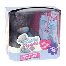 "10"" Dress & Play Tatty Teddy Me to You Bear with Playsuit"