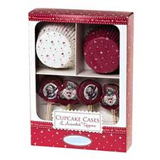 Me to You Bear Christmas Cup Cake Set