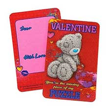 3D Valentine Me to You Bear Message Card
