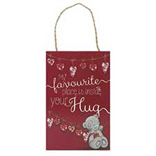 Inside Your Hug Me to You Bear Love Plaque