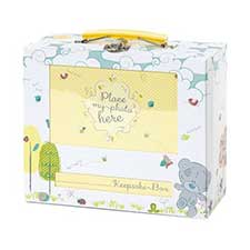 Tiny Tatty Teddy Personalisable Babys Trinket Box