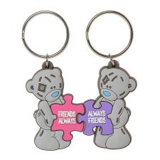 Friends Always Puzzle Pieces 2 Part Me to You Bear Keyring