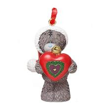 Holding Heart Me to You Bear Tree Decoration