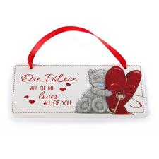 One I Love Me to You Bear Plaque