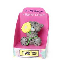 A Little Thank You Me to You Bear Mini Resin Figurine