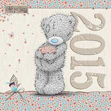 2015 Me to You Bear Classic Square Calendar