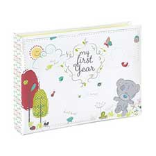 Babys First Year Tiny Tatty Teddy Photo Album
