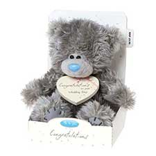 "7"" Congratulations on Wedding Day Me to You Bear"